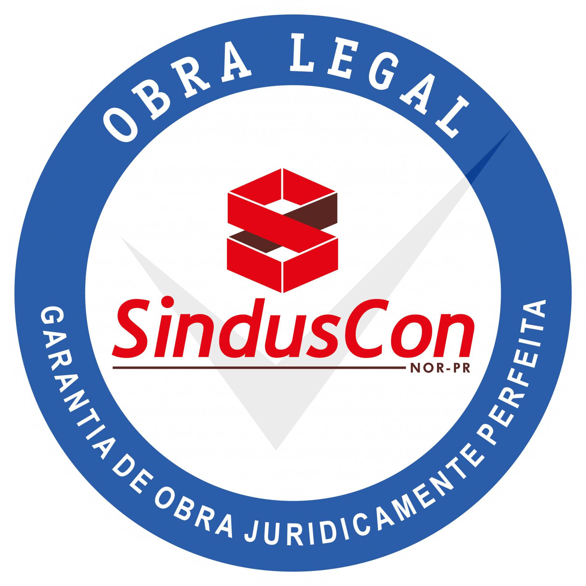 SELO OBRA LEGAL SINDUSCON